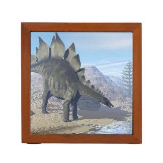 Stegosaurus dinosaur - 3D render Desk Organizer