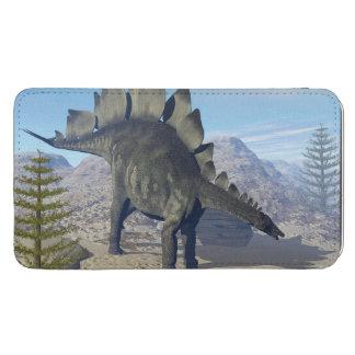 Stegosaurus dinosaur - 3D render Phone Pouch