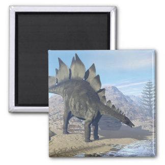 Stegosaurus dinosaur - 3D render Magnet