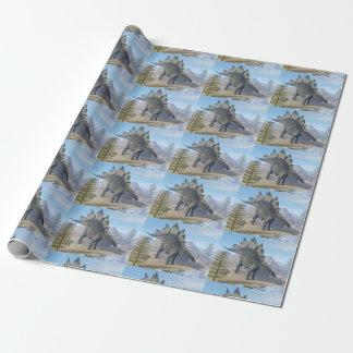Stegosaurus dinosaur - 3D render Wrapping Paper