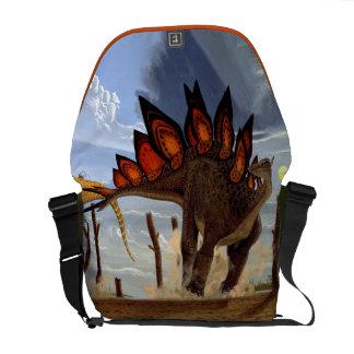 Stegosaurus Dinosaur Messenger Bag Gregory Paul