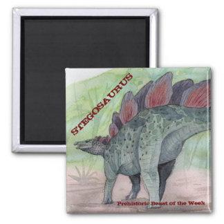Stegosaurus Magnet