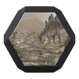 Stegosaurus near water - 3D render Black Bluetooth Speaker