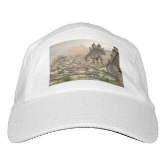 Stegosaurus near water - 3D render Hat