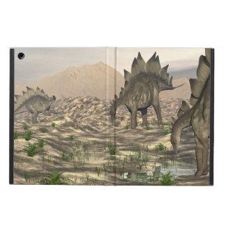 Stegosaurus near water - 3D render iPad Air Cover