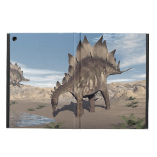 Stegosaurus near water - 3D render iPad Air Cover