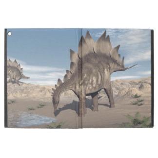 "Stegosaurus near water - 3D render iPad Pro 12.9"" Case"