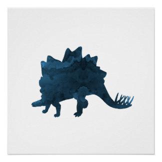 Stegosaurus Perfect Poster