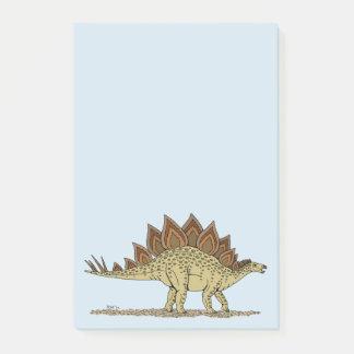 Stegosaurus Post-it Notes