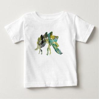 Stegosaurus Skeleton Baby T-Shirt