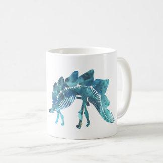 Stegosaurus Skeleton Coffee Mug