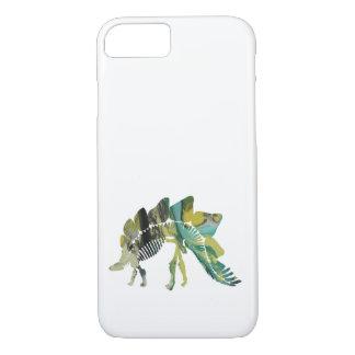 Stegosaurus Skeleton iPhone 8/7 Case