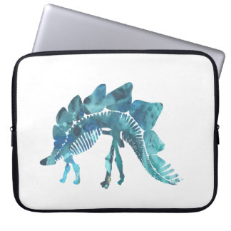 Stegosaurus Skeleton Laptop Sleeve