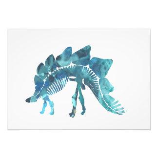 Stegosaurus Skeleton Photo Print