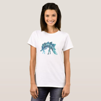 Stegosaurus Skeleton T-Shirt