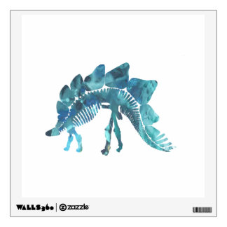 Stegosaurus Skeleton Wall Decal