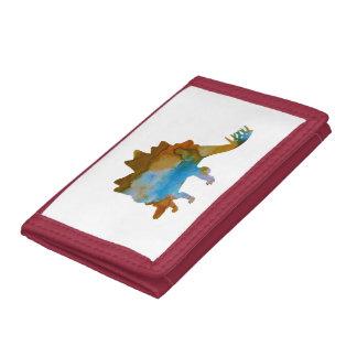 Stegosaurus Trifold Wallet