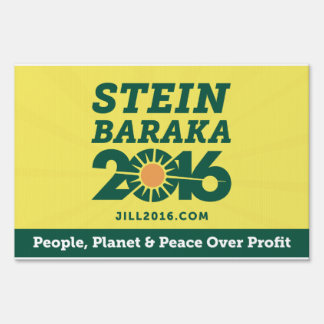 Stein Baraka 2016 Yard Sign