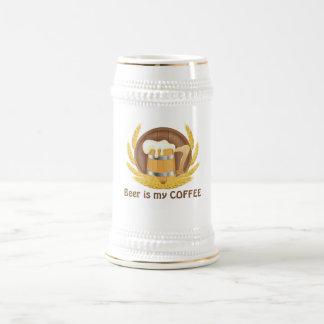 Stein Beer Mug with Modern Design