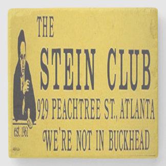 Stein Club, Midtown Atlanta Marble Stone Coaster
