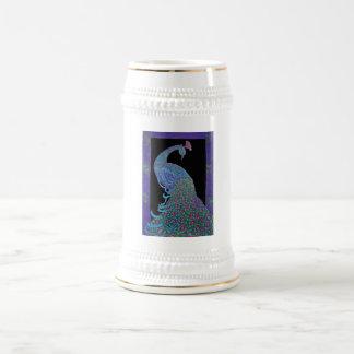 Stein -Mug -Proud Peacock