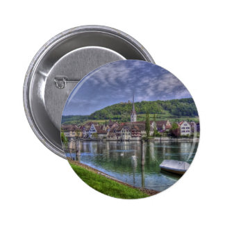 Stein on the River Rhine Buttons