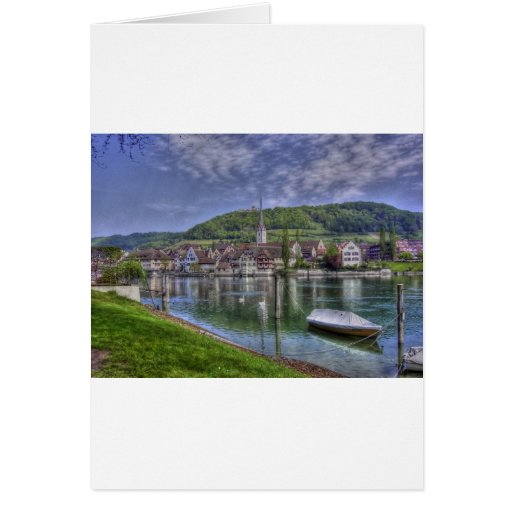 Stein on the River Rhine Greeting Card