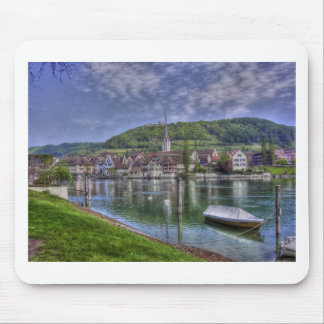 Stein on the River Rhine Mousepad