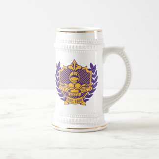 Stein Purple and Gold