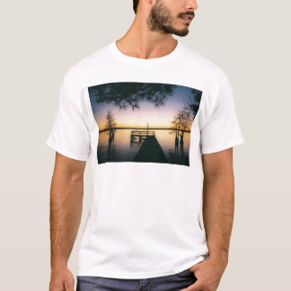 Steinhagen Reservoir Sunset T-Shirt