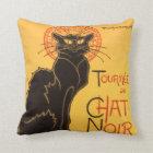 Steinlen: Chat Noir Throw Pillow