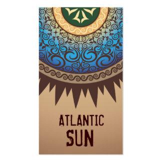 Stella Damask Eternal Sun Harvest Business Card