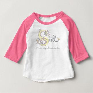 Stella girls S name meaning custom tee