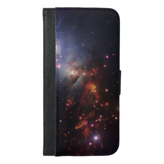 Stellar Cosmic Sparklers SpaceHD iPhone 6/6s Plus Wallet Case