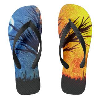 Stellar Dichotomy Flip Flops