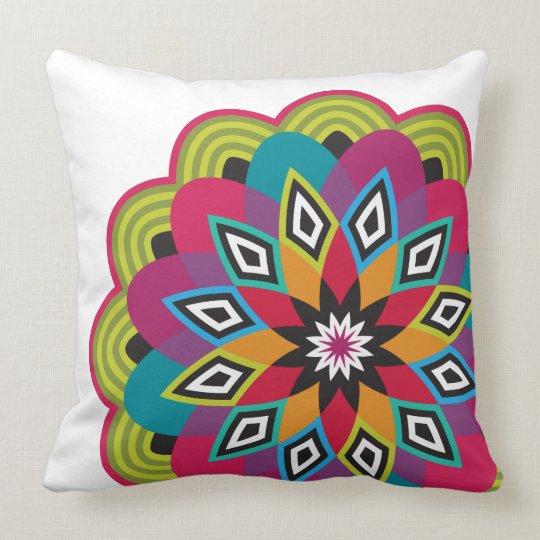 Stellar Flower Throw Pillow