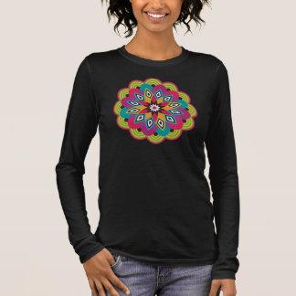 Stellar Flower Womens 3/4 Sleeve Tshirt