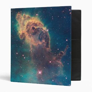 Stellar Jet in Carina Nebula 3 Ring Binder
