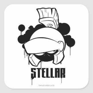 Stellar MARVIN THE MARTIAN™ Square Sticker