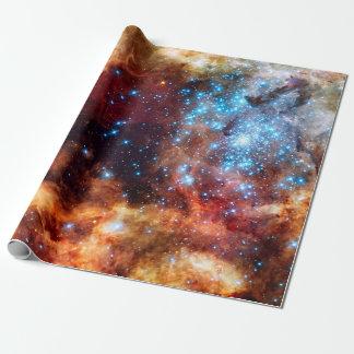 Stellar Nursery R136 Tarantula Nebula NASA Photo Wrapping Paper