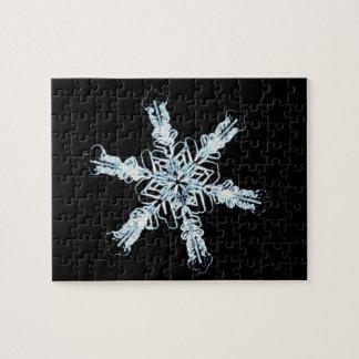 Stellar snow crystal puzzle