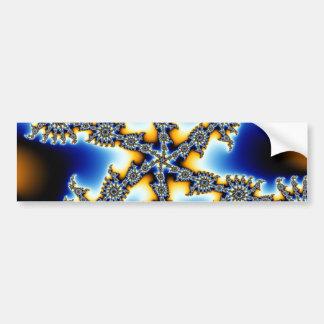 Stellar Snowflake Bumper Stickers