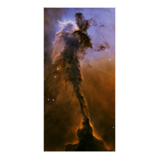Stellar Spire in the Eagle Nebula Poster