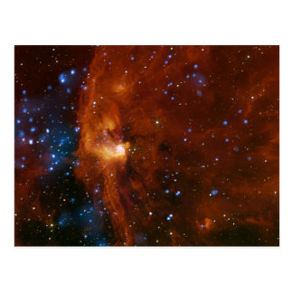 Stellar Star Birth RCW 108 NASA Postcard