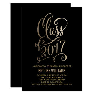 Stellar Year EDITABLE COLOR Graduation Invitation