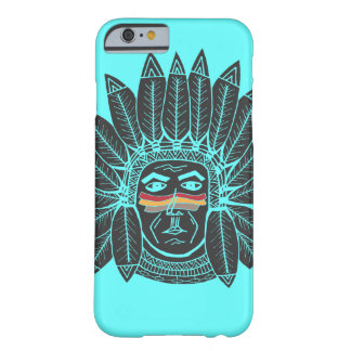 StellaRoot Drawn Vintage Chief Indian Barely There iPhone 6 Case