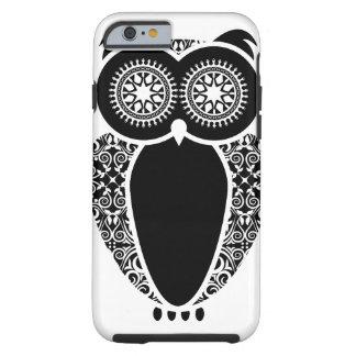 StellaRoot Hootie Owl Damask Tough iPhone 6 Case