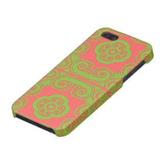 StellaRoot Mosaic Tiles Damask Preppy iPhone 5 Cases