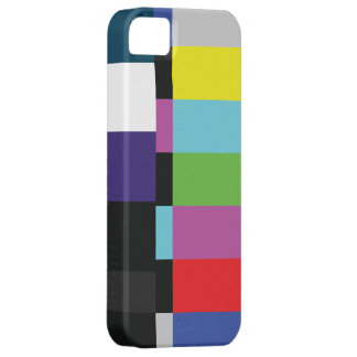 StellaRoot Retro TV Color Code Television vcr bars iPhone 5 Cover