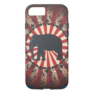 StellaRoot Vintage Circus Elephant Free Mandarin iPhone 7 Case